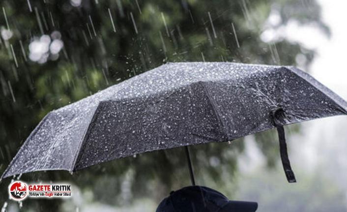 Meteorolojiden 13 il için sağanak uyarısı
