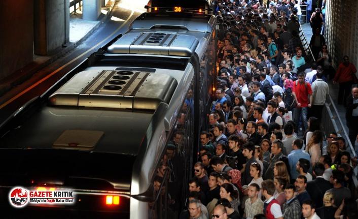Metrobüste klima kavgası: Neden açmıyorsun, seçimleri CHP kazandı diye mi!