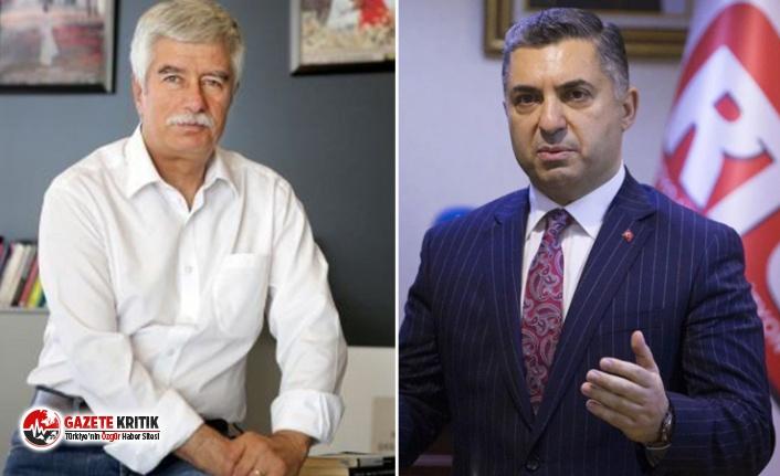 RTÜK'te deprem: Faruk Bildirici, 'etik ve yasa dışı' yönetim kurulu üyeliklerini açıkladığı Ebubekir Şahin'i RTÜK Başkanlığı'ndan çekilmeye çağırdı!