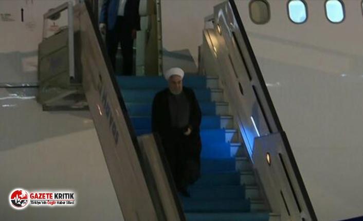Ruhani, Türkiye-Rusya-İran üçlü zirvesi için Ankara'da