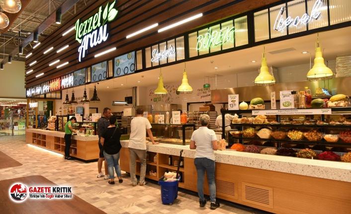 Sağlıklı ve ucuz yemek 'Lezzet Arası'nda