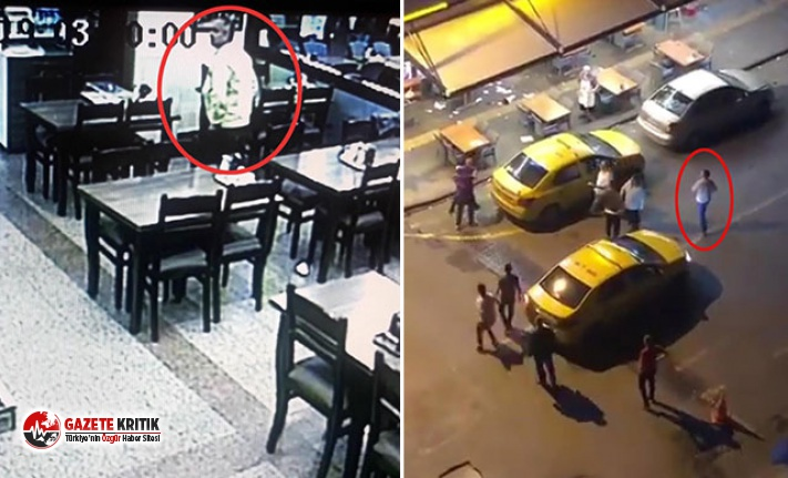 Şevket Çoruh'a saldıranların restoranı birbirine kattığı görüntüler ortaya çıktı