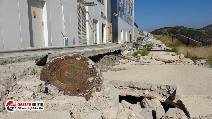 2 Yıl Önce Yapılan Devlet Hastanesinin Zemini Çöktü