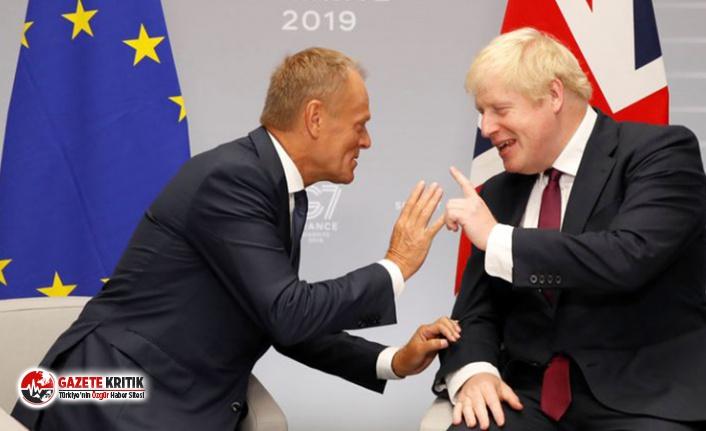 AB Komisyonu Başkanı Tusk'tan Britanya lideri Johnson'a: Onu istemiyorsun, bunu istemiyorsun; nereye gidiyorsun?