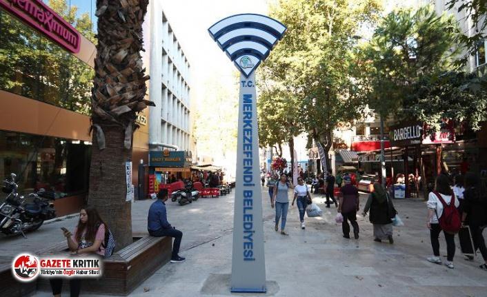 AKP'den CHP'ye geçen ilçede ücretsiz WiFi dönemi