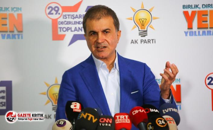 AKP Sözcüsü Ömer Çelik'ten Kılıçdaroğlu'nun dokunulmazlığına ilişkin açıklama: CHP, HDP konusunda müsamahakar davranıyor