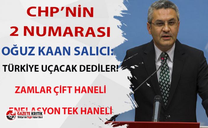 AKP'ye Türkiye uçacak sözlerini hatırlatan Salıcı, ekonomiyi işaret etti