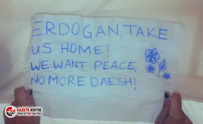 Avrupalı IŞİD'liler Türk askerini bekliyor: Ülkemize dönmek istiyoruz