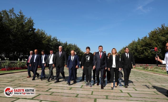 Başkan Ercengiz, Anıtkabir'i Ziyaret Etti