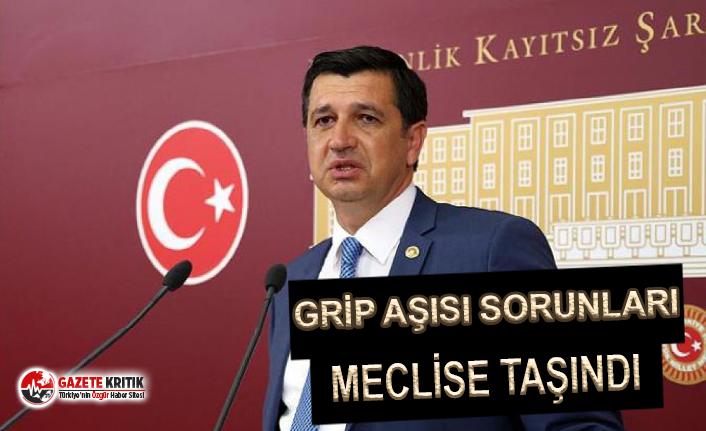 CHP'li Gaytancıoğlu'ndan Grip Aşısı ile İlgili Soru Önergesi