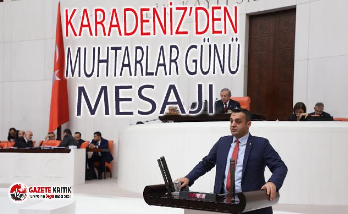 CHP'li Karadeniz'den Muhtarlar Günü Mesajı