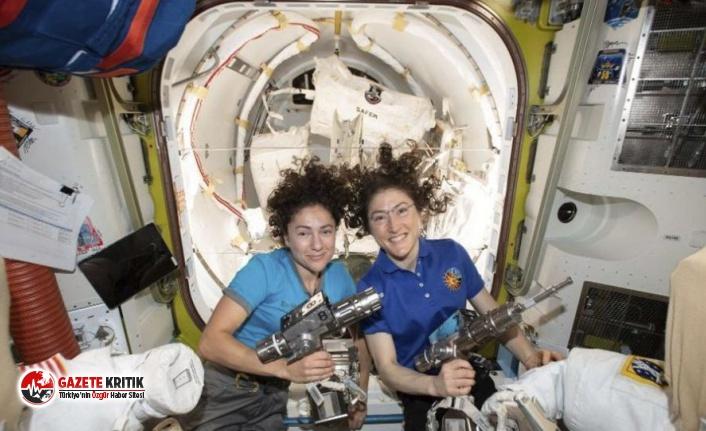 İki Kadından Uzayda Bir İlk!
