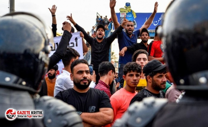 Irak'ta protestolarda ölenlerin sayısı 100'e yaklaşırken BM'den uyarı