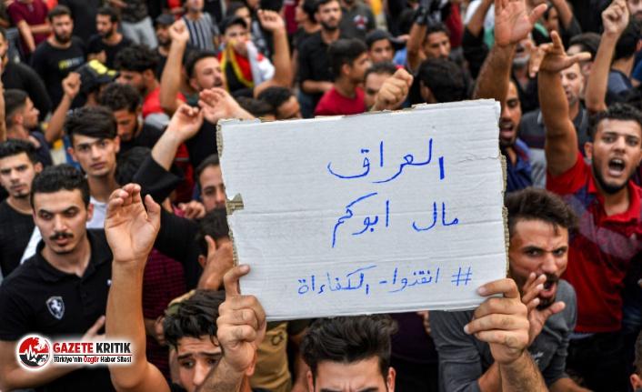 Irak'taki gösteriler için inceleme başlatıldı
