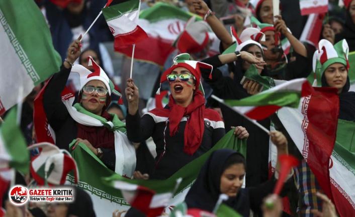 İran'da 40 yıl sonra bir ilk: Kadınlar stadyumda maç izledi, İran Kamboçya'yı 14-0 yendi