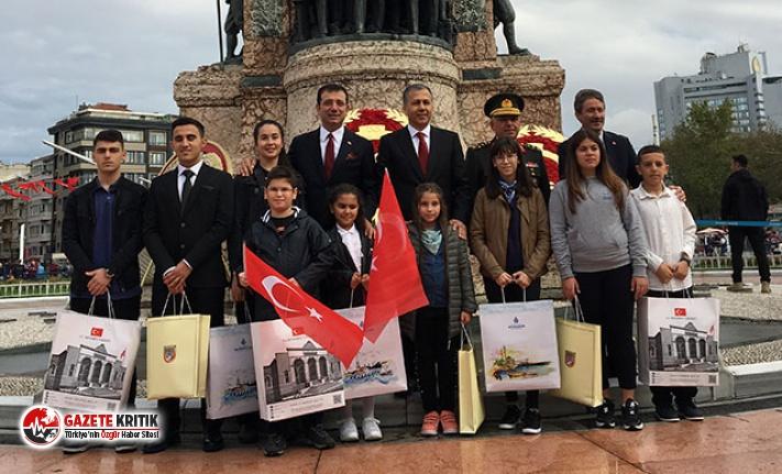 İstanbul'un Kurtuluşunun 97. Yıl Dönümü; Taksim'de tören düzenlendi