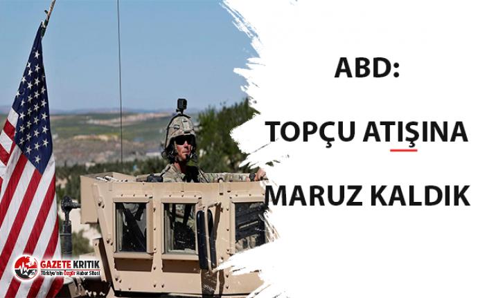 Kobani'deki ABD birlikleri Türkiye tarafından topçu ateşine maruz kaldı