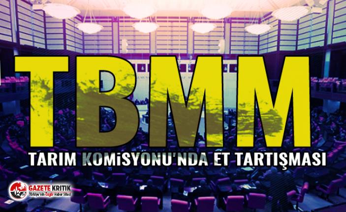TBMM Tarım Komisyonu'nda et tartışması