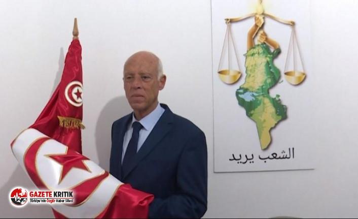 Tunus'un yeni Cumhurbaşkanı Anayasa Profesörü Kays Said oldu