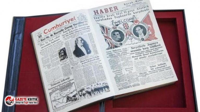 'Türk ve Dünya Basınında Atatürk' sergisi açılıyor