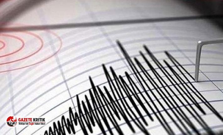 Yalova'da 4.0 büyüklüğünde deprem