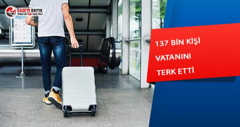 137 Bin Türk Vatandaşı Ülkesini Terk Etti