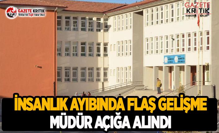 Aksaray'daki İnsanlık Ayıbında Müdür Açığa Alındı