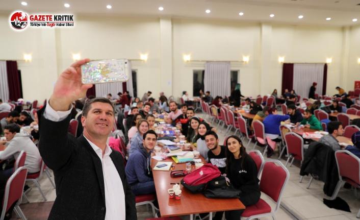 Başkan Ercengiz'den Vizelere Hazırlanan Öğrencilere Moral Desteği