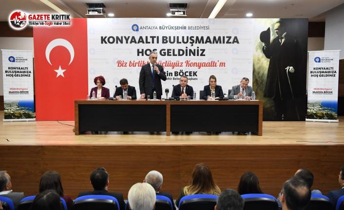 Büyükşehir Mahalle Buluşması Konyaaltı'nda..