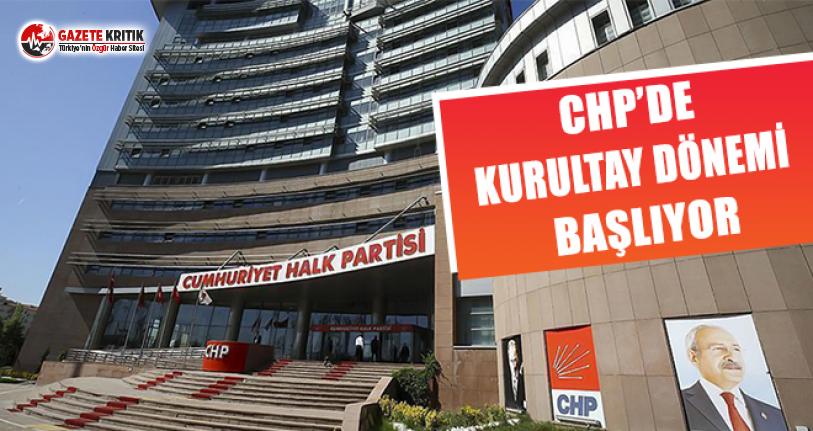 CHP'de Kurultay Dönemi Başlıyor