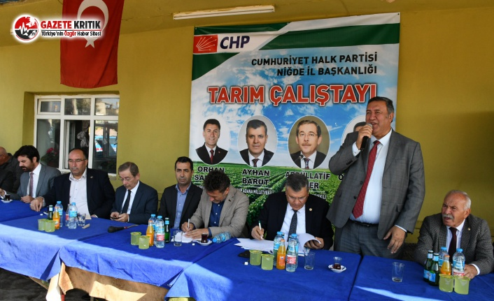CHP'den Niğde Çıkarması