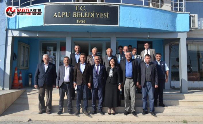 CHP'li Sarıbal'dan Alpu Ziyareti