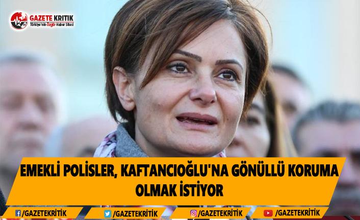 Emekli Polisler, Kaftancıoğlu'na Gönüllü Koruma Olmak İstiyor