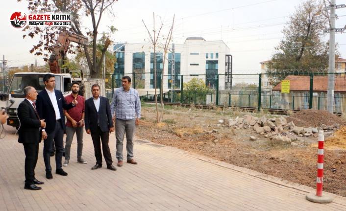 Kartal Belediyesi'nden İstasyon Caddesi ve Doğan Sokak'ta Yenileme Çalışması