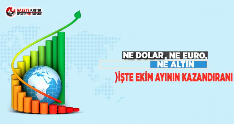 Ne Dolar, Ne Euro, Ne Altın! İşte Ekim Ayının Kazandıranı...