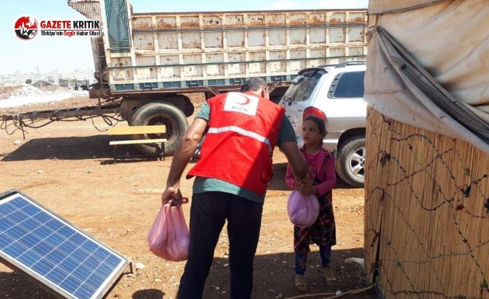 Türkiye'den Suriye'ye Dev Gıda Yardımı