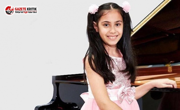 10 Yaşındaki Piyanistimize Gururlandıran Ödül