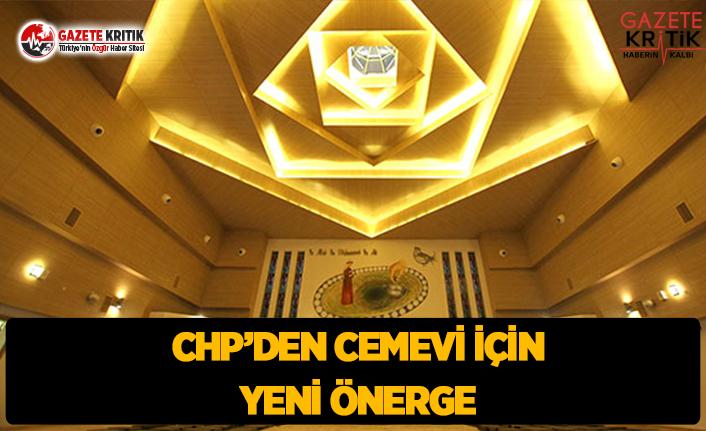 CHP'den Cemevi İçin Yeni Önerge
