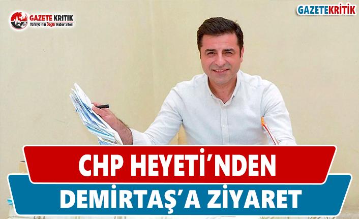 CHP Heyeti'nden Demirtaş'a Ziyaret