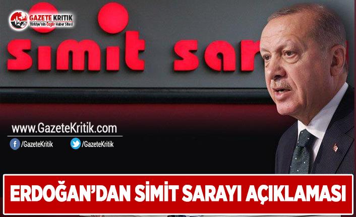 Erdoğan'dan Simit Sarayı Açıklaması