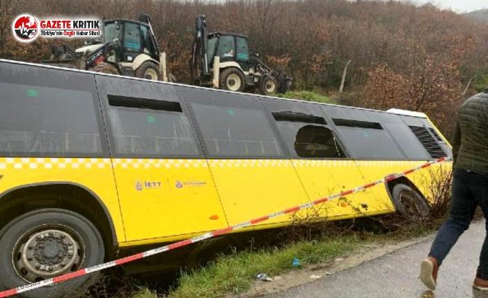 İETT Otobüsü Kaza Yaptı: Yaralılar Var!