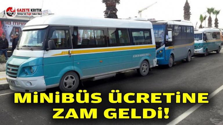 İzmir'de Minibüslere Zam!