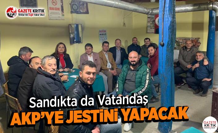 Sandıkta da Vatandaş AKP'ye Jestini Yapacak