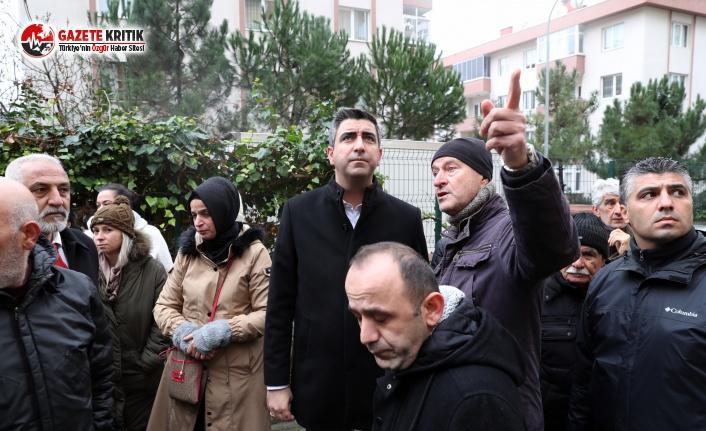 Uğur Mumcu'da Yaşanan Çökme Sonrası Kartal Belediyesi Teyakkuza Geçti