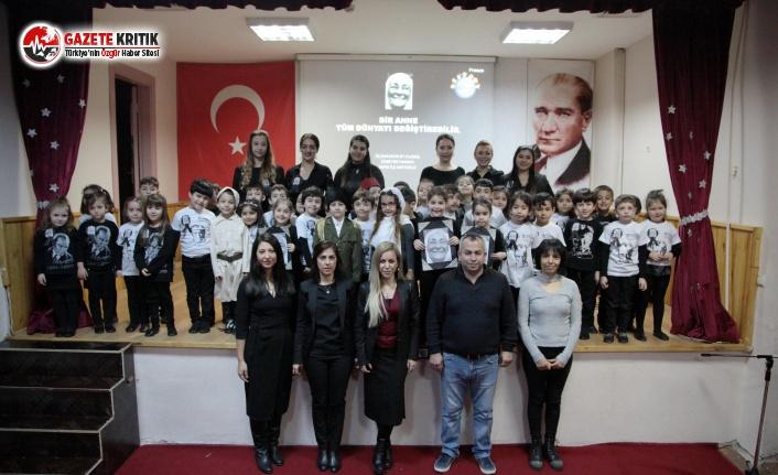 Atatürk'ün Annesi Zübeyde Hanım Kartallı Minikler Tarafından Anıldı