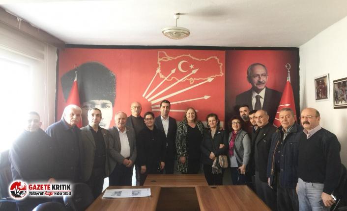 CHP Kadın Kolları Genel Başkan Adayı Ayten Gülsever'e  yoğun ilgi