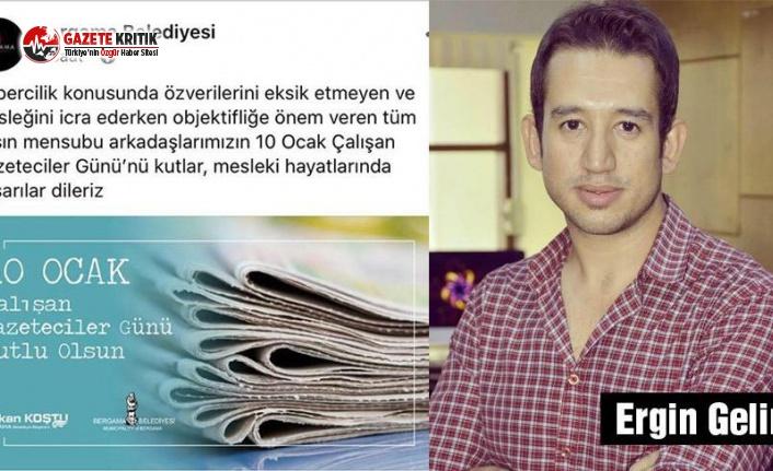 Basın çalışanını otoparkçı yapan AKP'li başkan gazateciler gününü kutladı!