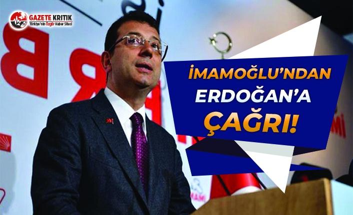 Başkan İmamoğlu'ndan Cumhurbaşkanı Erdoğan'a Çağrı!