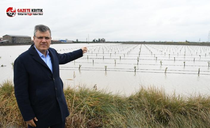 CHP'li Barut:Zarar tespiti yapılsın, çiftçi borçları faizsiz ertelensin