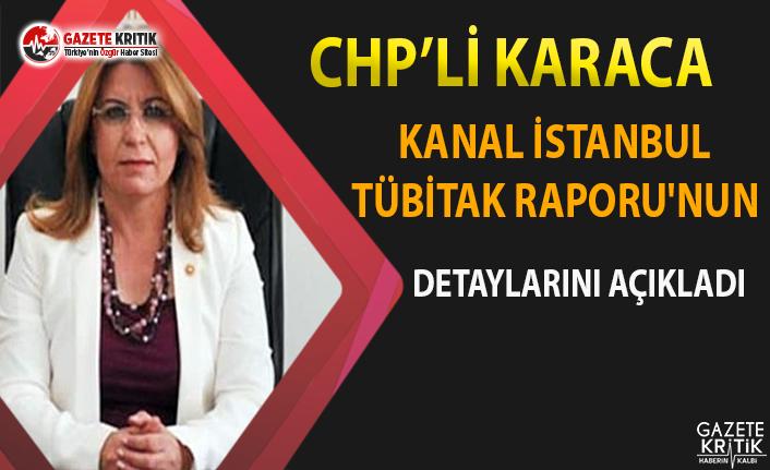 CHP'li Karaca, Kanal İstanbul TÜBİTAK Raporunun Detaylarını Açıkladı